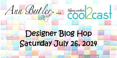 Blog Hop Banner Cool2Cast Ann Butler Designs 2014 -