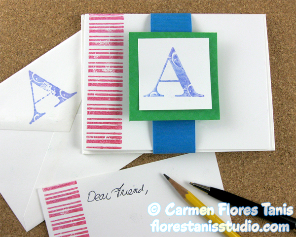 Crafters-Ink-and-EZ-Des-Stamps-Stamped-Note-Card-Set-by-Carmen-Flores-Tanis