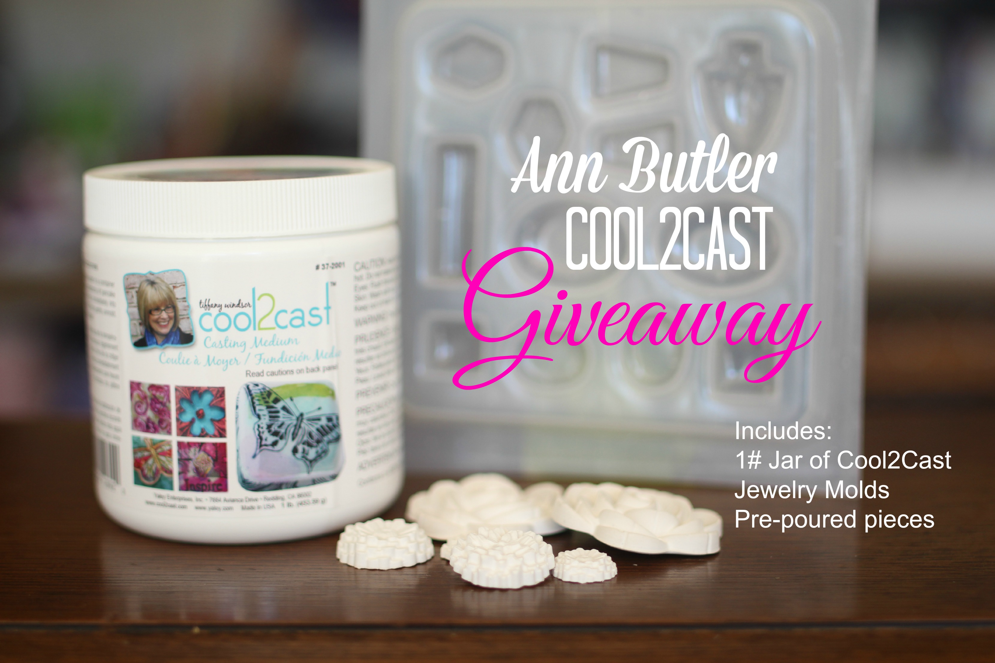 blog hop Giveaway AnnButler Cool2Cast