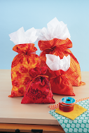 Craft your Stash fabric gift bags