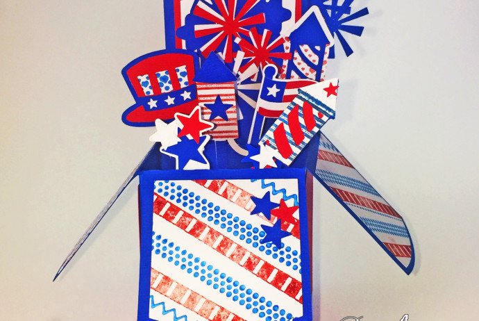 4th of july card 1